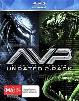 Alien Vs Predator / AVP2: Requiem (2 Disc Box Set) on Blu-ray