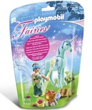 Playmobil - Healer Fairy with Unicorn Sapphire Night (5441)