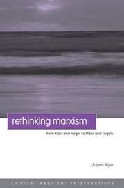 Rethinking Marxism by Jolyon Agar image