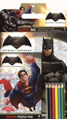 Batman v Superman: Activity Bag (DC Comics)