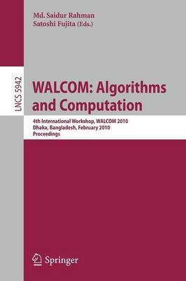 WALCOM: Algorithms and Computation image