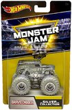 Hot Wheels: 1:64 Monster Jam Anniversary Vehicle (Chrome Grave Digger)