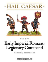 Hail Caesar: Imperial Roman Legionary Command Pack (3pc)