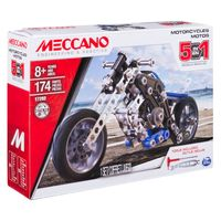 Meccano 5 Model Set (Motorcycle)
