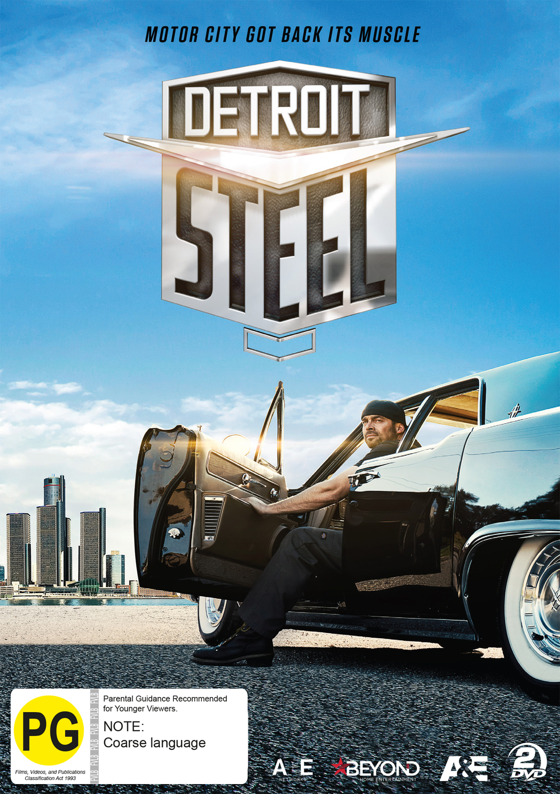 Detroit Steel on DVD image