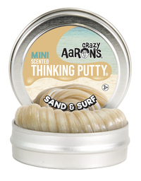Crazy Aarons: Thinking Putty - Sand & Surf (Mini Tin)