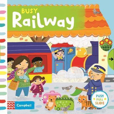 Busy Railway by Jo Byatt