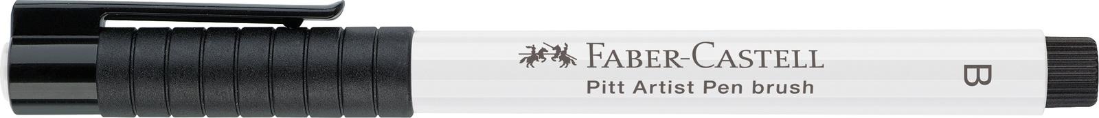 Faber-Castell: Pitt Artist Brush Pen - White image