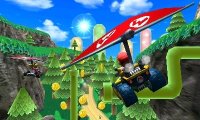 Mario Kart 7 screenshots, Screenshot 3 of 9