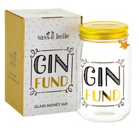Sass & Belle: Gin Fund - Money Jar (450ml) image