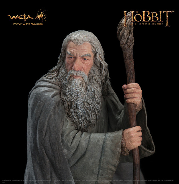 The Hobbit Gandalf the Grey Statue - by Weta