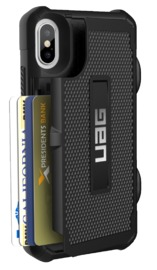UAG Trooper Series iPhone X Case - Black