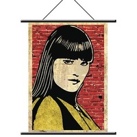 Watchmen Silk Spectre Wall Scroll image