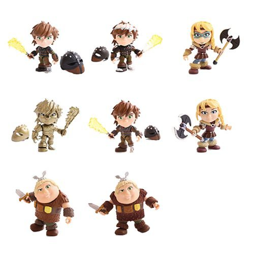 How to Train Your Dragon: Heroes & Humans Wave 1 - Action Vinyl Figure (Assorted) image