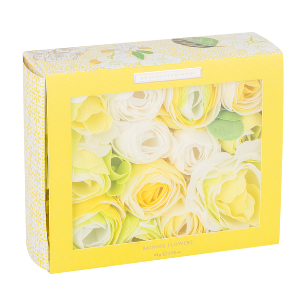 Heathcote + Ivory: Neroli & Lime Leaves Bathing Flowers