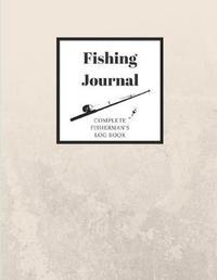 Fishing Journal Complete Fisherman's Log Book by Fishing Supplies Zen