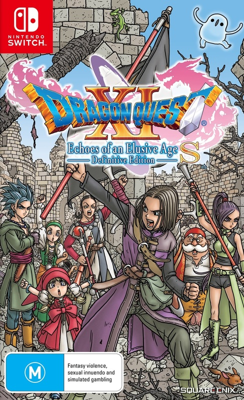 Dragon Quest XI S: Echoes of an Elusive Age – Definitive Edition for Switch