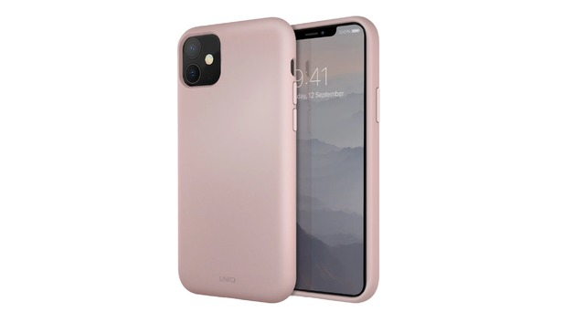 Uniq: iPhone 11 Liquid Silicone Case - Pink