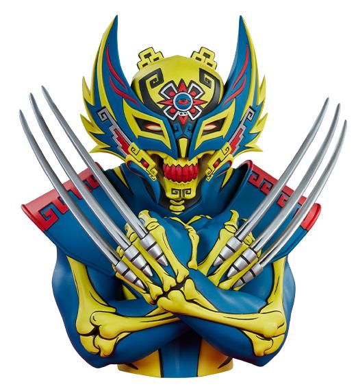 """Unruly Industries: Urban Aztec Wolverine - 8"""" Designer Toy"""
