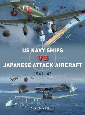 US Navy Ships vs Japanese Attack Aircraft by Mark Stille
