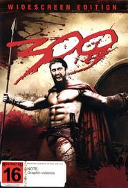 300 (1 Disc) on DVD