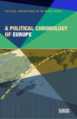 A Political Chronology of Europe by Europa Publications
