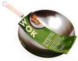 Carbon Steel Stir Fry Pan 30cm