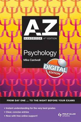 A-Z UK Psychology Handbook by Mike Cardwell image
