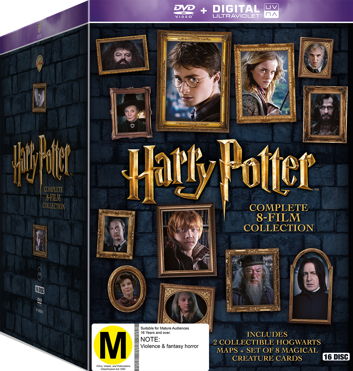 Harry potter complete 8 film collection dvd in stock for Sejour complet harry potter