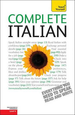 Complete Italian, Level 4 by Lydia Vellaccio image