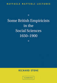 Some British Empiricists in the Social Sciences, 1650-1900 by Richard Stone image