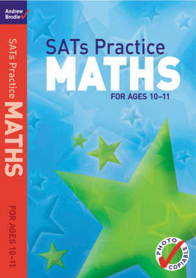 SATs Practice Maths by Andrew Brodie image