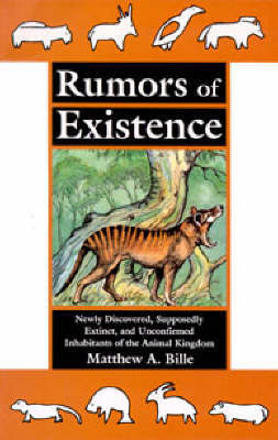 Rumors of Existence by Matthew A. Bille image