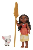 Disney's Moana: Young Moana Of Oceania & Pua- Small Doll Set