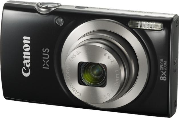 Canon IXUS 185 Digital Camera (Black)
