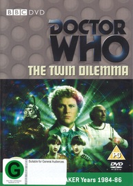 Doctor Who: The Twin Dilemma on DVD