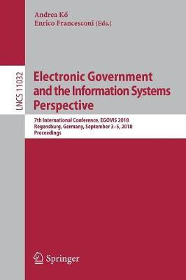 Electronic Government and the Information Systems Perspective image