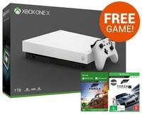 Xbox One X 1TB Forza Horizon 4 Console Bundle - White for Xbox One