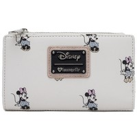 Loungefly: Minnie Mouse (All-Over Print) - Zip-Around Wallet