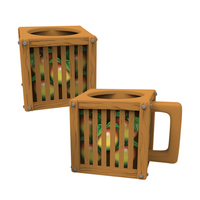 Crash Team Racing Wumpa Fruit Crate Mug image