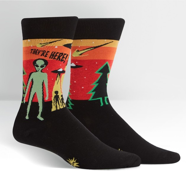 Sock It to Me: Mens Crew - They're Here