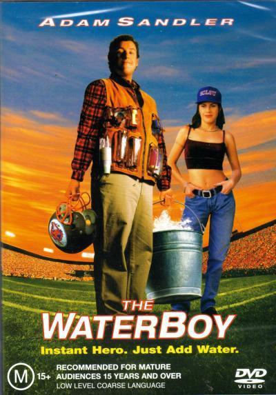 The Waterboy on DVD