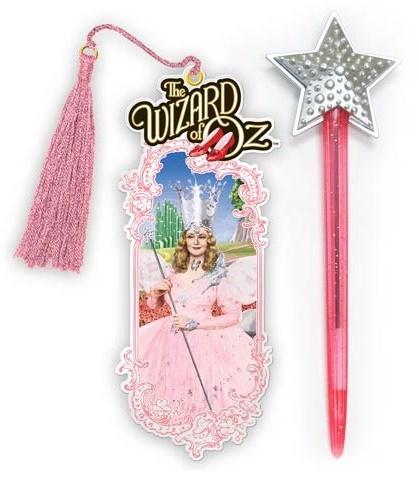 The Wizard of Oz: Glinda Wand Pen & Bookmark Set