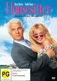 Housesitter on DVD