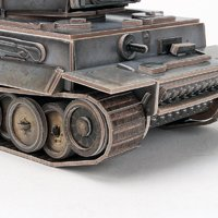 CubicFun: ArmiBuild - German Tiger I Mid Production - 258 Piece 3D Puzzle image