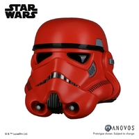 Star Wars: Crimson Stormtrooper Helmet - Prop Replica