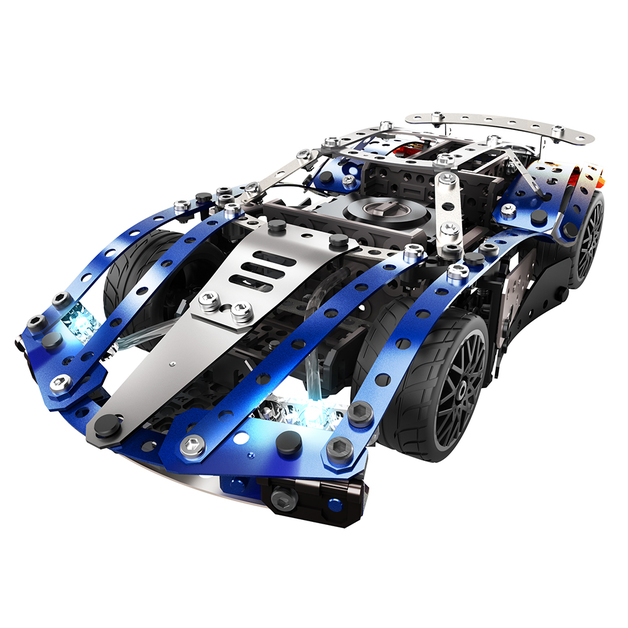 Meccano: 25 Model Set - Super Car with Motor