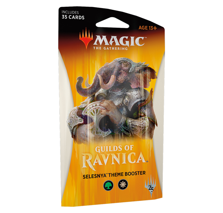 Magic The Gathering: Guilds of Ravnica Theme Booster: Selesnya image