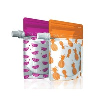 Cherub Baby: Reuseable Food Storage Pouches (10 Pack)