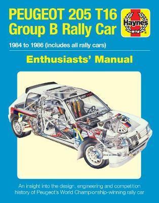 Peugeot 205 T16 Group B Rally Car by Nick Garton